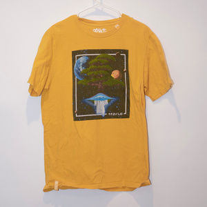 Lrg brand UFO/ Tree in space design Size Large